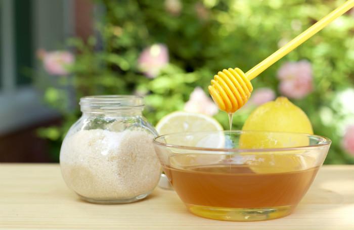honey sugar wax