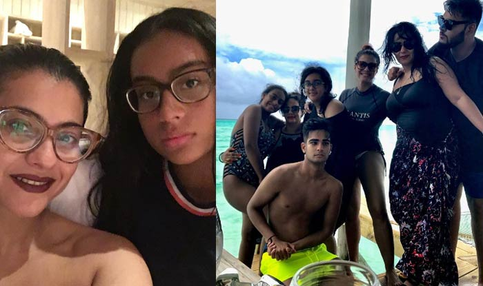 Kajol And Daughter Nysa Are Twinning In Bikinis See Their Photos