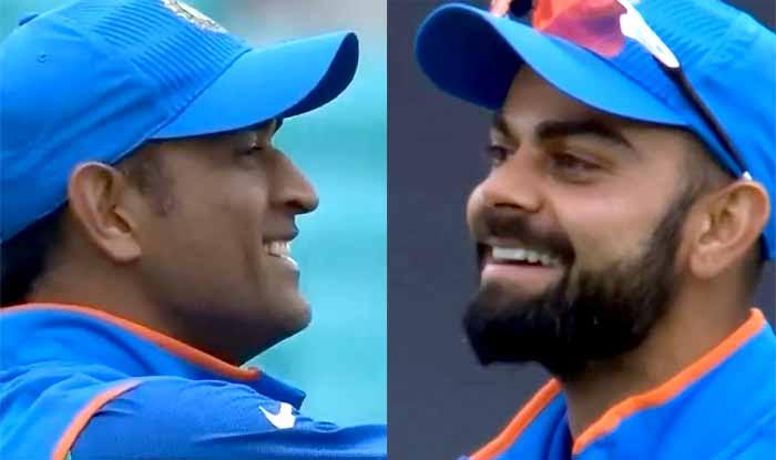 ICC Champions Trophy 2017: MS Dhoni drops the catch, Kohli cant ...