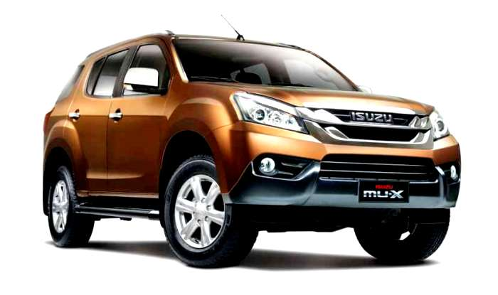 new release of maruti carNew upcoming cars launching in India in May 2017  Isuzu MUX
