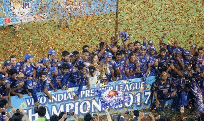 मुंबई ने फाइनल में पुणे को एक रन से हराकर तीसरी बार आईपीएल खिताब जीता (bcci)