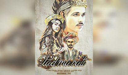 Padmavati fan-made poster