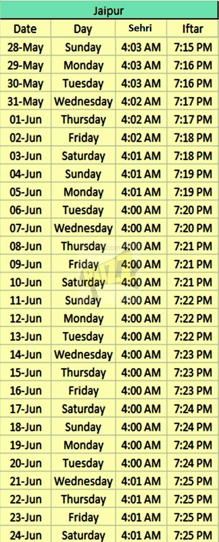 tempismo ramadan jaipur
