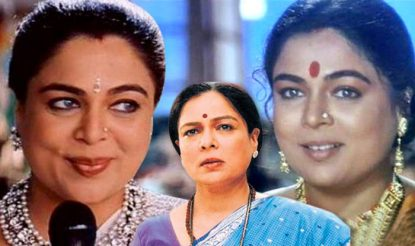 Reema Lagoo essayed the role of a mother in Bollywood seamlessly