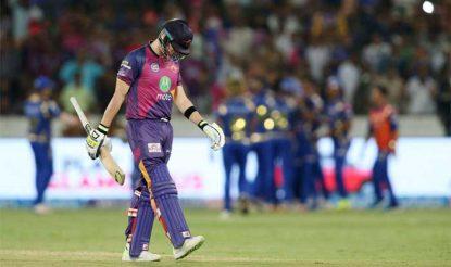 स्टीव स्मिथ ने आईपीएल के फाइनल इतिहास का सबसे धीमा अर्धशतक बनाया (bcci)