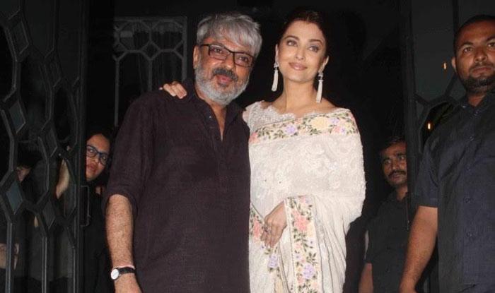 Aishwarya Rai Bachchan with Sanjay Leela Bhansali