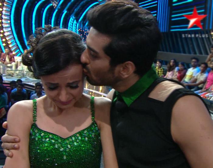 Nach Baliye 8 Grand Finale: Mohit Sehgal brings tears to Sanaya Irani's eyes with his heart felt message