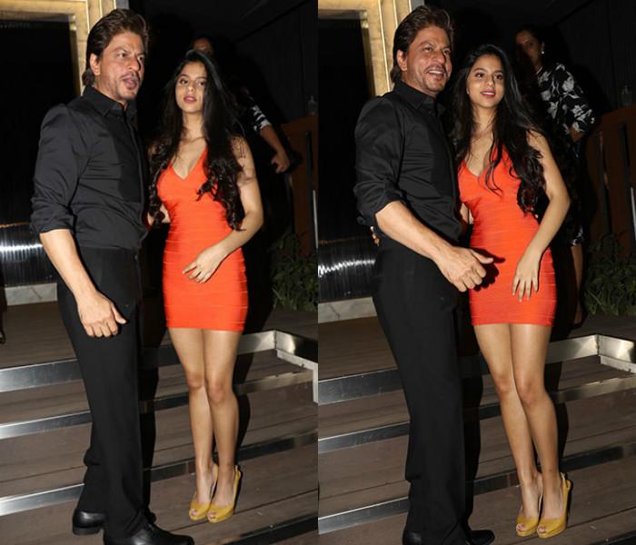 Suhana Khan SRK pictures
