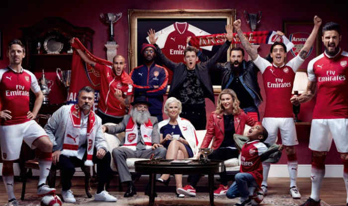 Arsenal new strip redcurrant
