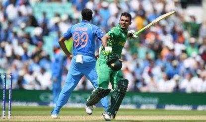 फखर जमान ने पाकिस्तान के लिए 114 रन की शानदार पारी खेली (icc)