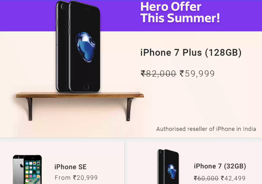 Get A Free Iphone 7 Plus In India