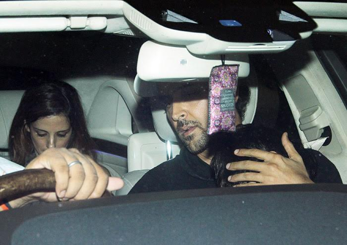 Hrithik Roshan goes on a movie date with ex wife Sussanne Khan and