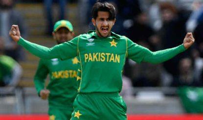 24 रन देकर 3 विकेट लेने वाले पाकिस्तानी गेंदबाज हसन अली को मैन ऑफ द मैच घोषित किया गया (icc)