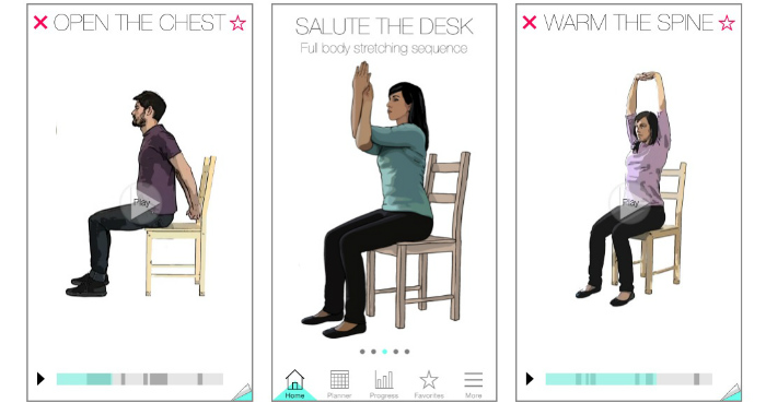 salute the desk