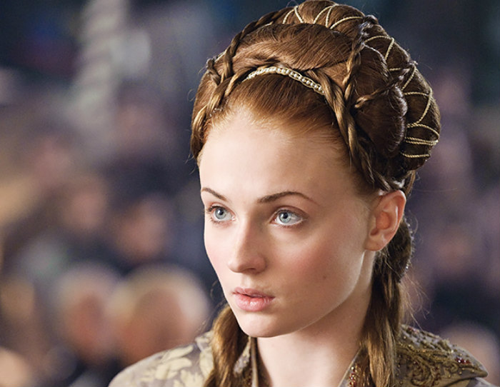 Game Of Thrones Sansa Stark Reveals Her Hairstyle Secrets