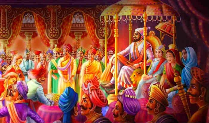 Chatrapati Shivaji Maharaj Hd Pic: Chatrapati Shivaji Maharaj Real Coronation Ceremony