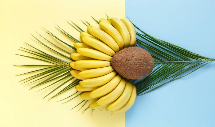 DIY natural homemade coconut and banana hair mask for lustrous hair(1)
