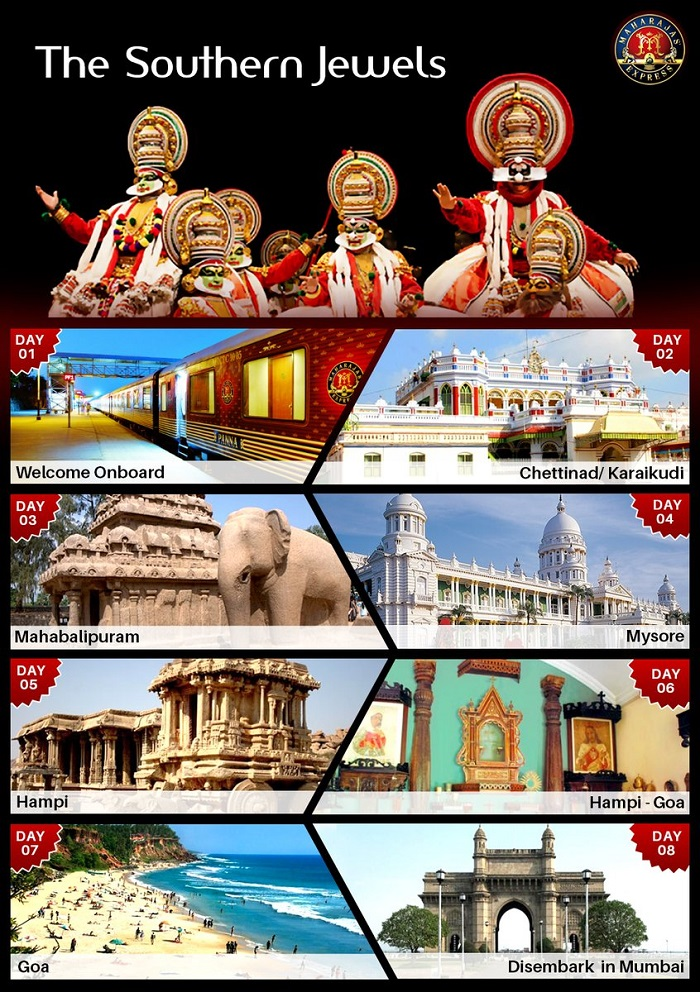 Maharajas Express To Embark On Its First Southern Sojourn