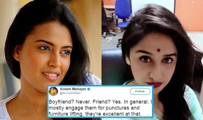 Sonam Mahajan irked Muslims, Women, Labourers and others with one tweet & Swara Bhasker shut her down