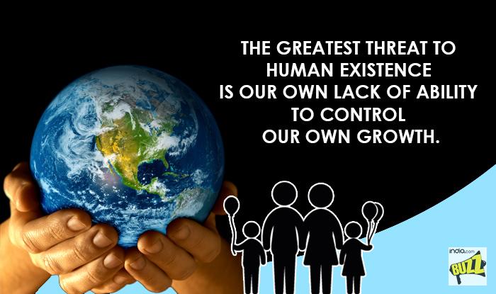 Overpopulation Slogans World Population Day Q...