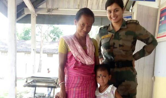Army Doctor Captain Nikita Srivastava Brought Five Year Old Comatose Seema Boro Back To Life In