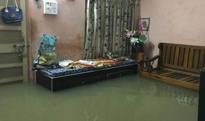 Water enters in house in Gujarat