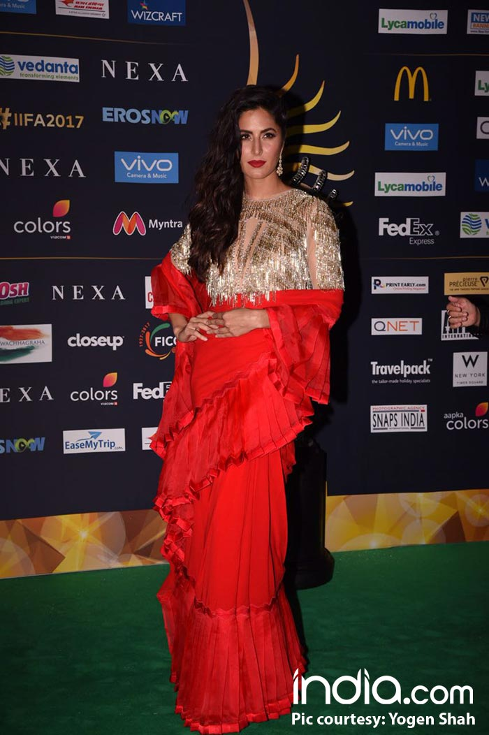 IIFA Rocks 2017 Green Carpet Worst Dressed: Katrina Kaif ...