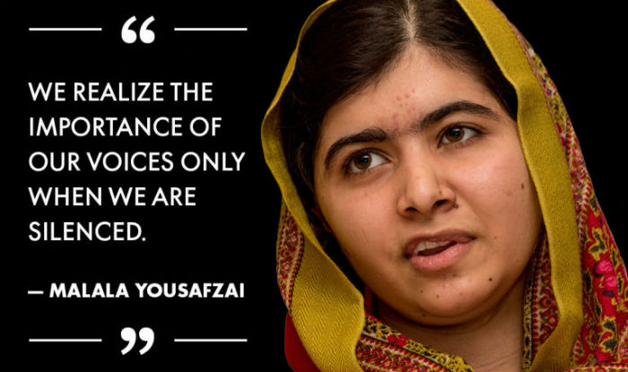 """the life and contributions of malala yousafzai and the importance of a woman education Malala yousafzai in key un role promoting girls' education  she was targeted  for her campaign against efforts by the taliban to deny women education  """" now this is a new life, this is a second life and it is for the purpose of education""""   the economy your money companies technology work."""