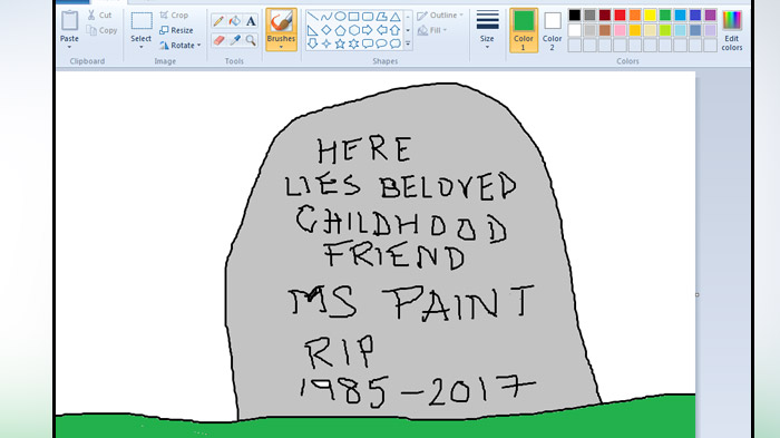 Microsoft Paint May Get Removed In the Future Windows 10 Update