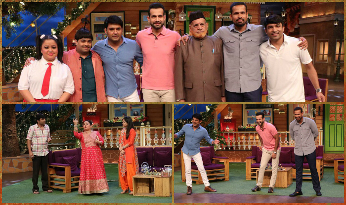 July  Sharma Pathan 2017: Kapil The brothers Show Irfan 2