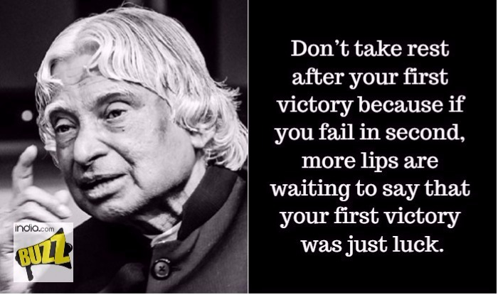 Dr APJ Abdul Kalam's 2nd Death Anniversary: Wise Quotes By