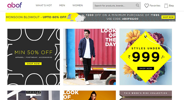 a7937863834 Abof which is short for all about fashion, is a relatively new fashion  e-commerce site that offers apparels for both men and women. It offers many  different ...