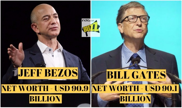 Jeff Bezos Beats Bill Gates To Become World S Richest Person See