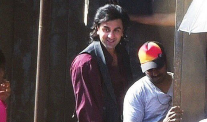 (File photo) Ranbir Kapoor as Sanjay Dutt on the sets of the biopic in Mumbai