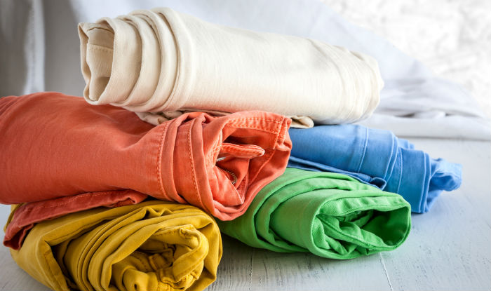 Wear breathable cotton clothing