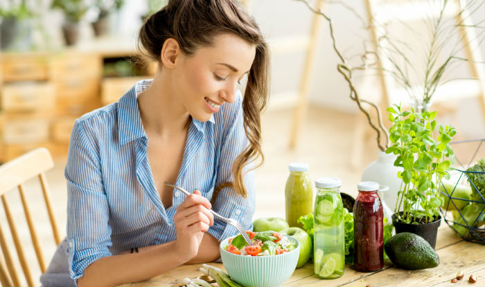 Load up on healthy food choices