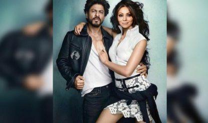 Shah Rukh Khan Gauri photoshoot