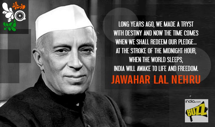 Famous Quote By Jawaharlal Nehru