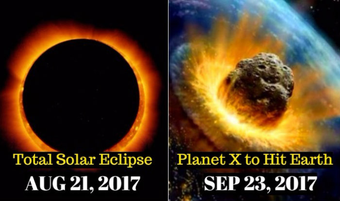 is 21st august 2017 solar eclipse indication of end of