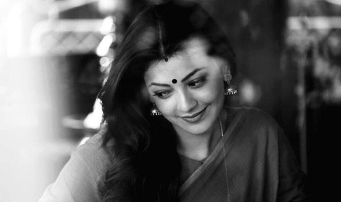 Kajal Aggarwal from the sets of Vivegam