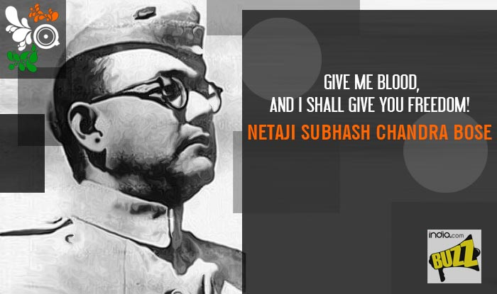 Famous Quote By Subhas Chandra Bose