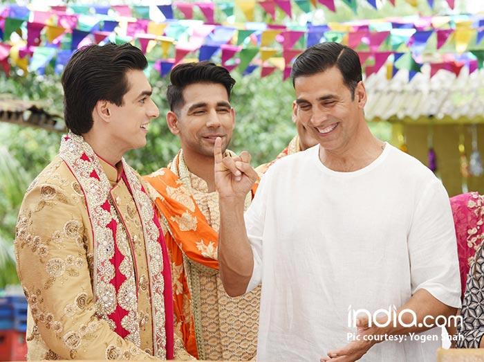 Akshay-Kumar-was-seen-shooting-with-Mohsin-Khan