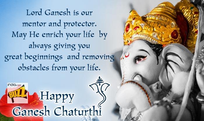 Ganesh Chaturthi Wishes 3