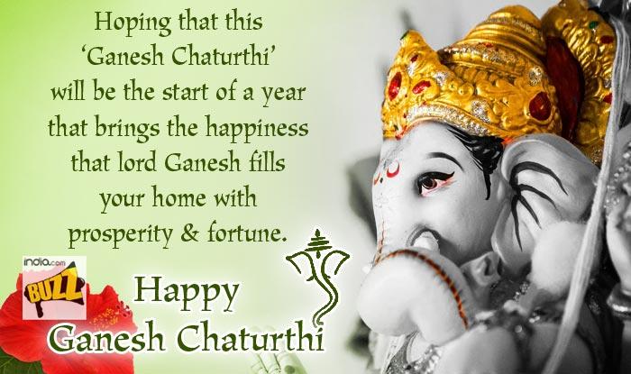 Ganesh Chaturthi Wishes 8