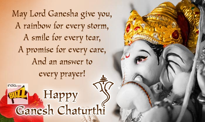 Ganesh Chaturthi Wishes 9