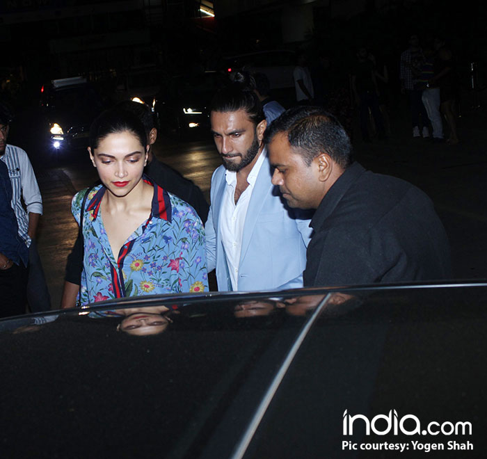 Deepika-Ranveer's Viral Kiss Gives Bhansali Nightmares