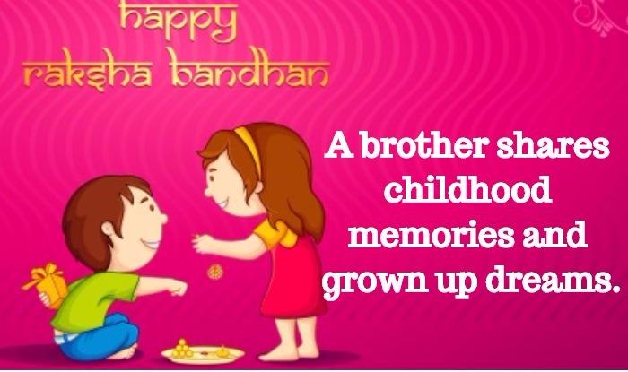Raksha Bandhan Quotes 2017 In English Happy Raksha Bandhan Images