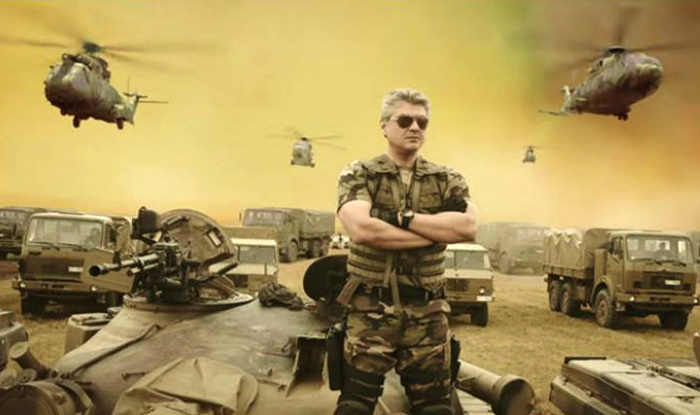 Thala Ajith in a still from his August 24 release Vivegam