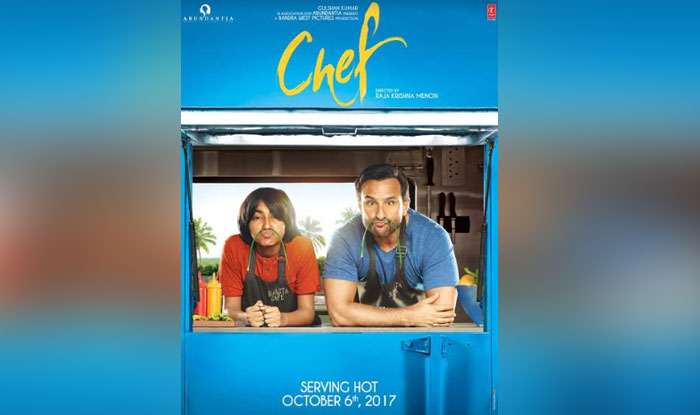Chef first look poster