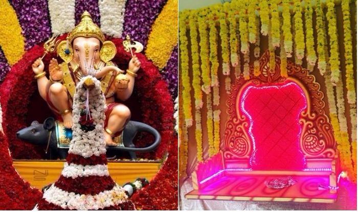 Ganpati Decoration Ideas At Home In Usa